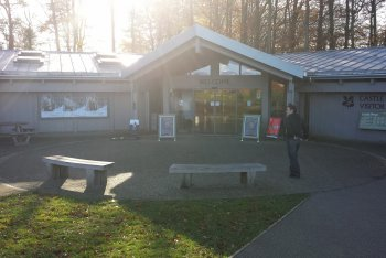 Castle Drogo Visitor Centre and Cafe, Chagford, Dartmoor National Park