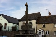 Market Cross, South Zeal, Dartmoor National Park