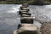 Huccaby Stepping Stones/Huccaby Steps, Hexworthy, Dartmoor National Park