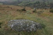 Coffin Stone, Dartmeet, Dartmoor National Park