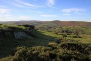 Wind Tor, Widecombe in the Moor, Dartmoor National Park
