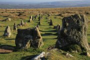 Shilstone Tor, Cosdon Beacon and Cosdon (The Cemetery) Stone Row Circular Walk, Throwleigh, Dartmoor National Park