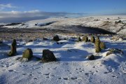 Nine Maidens Stone Circle, Belstone, Dartmoor National Park