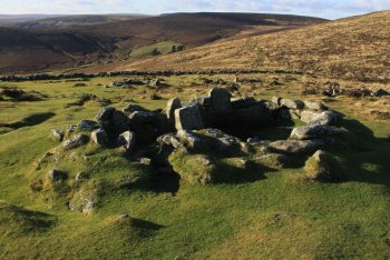 Grimspound (English Heritage), Postbridge, Dartmoor National Park