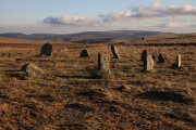White Moor Stone Circle, Gidleigh, Dartmoor National Park
