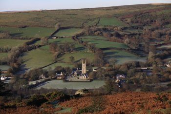 Widecombe in the Moor, Dartmoor National Park