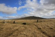 Langstone Moor Stone Circle, Peter Tavy, Dartmoor National Park