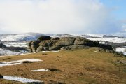 Saddle Tor, Haytor Vale, Dartmoor National Park