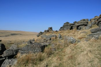 Longaford Tor, Two Bridges, Dartmoor National Park
