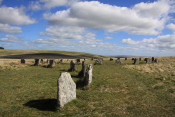 The Grey Wethers Stone Circles, Postbridge, Dartmoor National Park