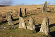 Six Stone Circles Circular Walk, Chagford, Dartmoor National Park