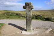 Nun's or Siward's Cross, Princetown, Dartmoor National Park