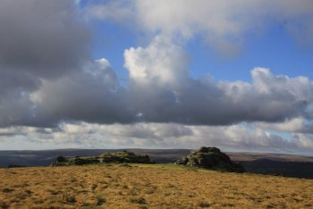 Pil Tor, Widecombe in the Moor, Dartmoor National Park
