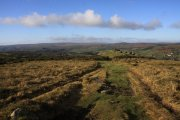 Blackslade Down, Widecombe in the Moor, Dartmoor National Park