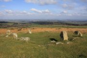 Mardon Down Cairn Circle, Moretonhampstead, Dartmoor National Park