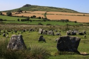 Yellowmead Circles/Multiple Stone Ring, Sheepstor, Dartmoor National Park