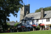 The Royal Oak Inn, Meavy, Dartmoor National Park