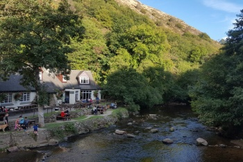 Fingle Bridge Inn, Drewsteignton, Dartmoor National Park