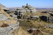 Bellever Tor, Bellever, Dartmoor National Park