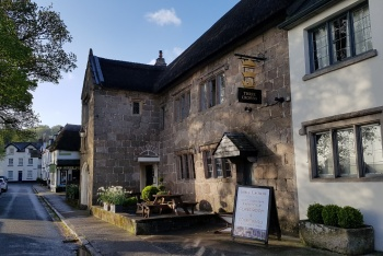 The Three Crowns Hotel, Chagford, Dartmoor National Park
