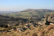 Bowerman's Nose, Hound Tor and Medieval Village Circular Walk, Manaton, Dartmoor National Park