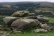 Whooping Rock, North Bovey, Dartmoor National Park