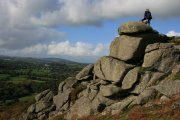 Lustleigh Cleave to Hunter's Tor Circular Walk, Lustleigh, Dartmoor National Park