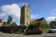 Lustleigh St John the Baptist Church, Lustleigh, Dartmoor National Park
