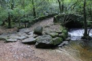 Hisley Bridge, Lustleigh, Dartmoor National Park