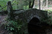 Houndtor Wood Bridge, Manaton, Dartmoor National Park