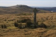 Newleycombe Cross, Princetown, Dartmoor National Park