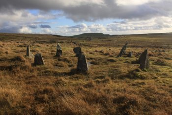 Trowlesworthy Stone Row (East), Shaugh Prior, Dartmoor National Park