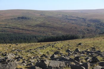 Down Tor, Princetown, Dartmoor National Park
