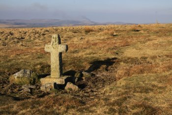 Ter Hill Cross (West), Hexworthy, Dartmoor National Park
