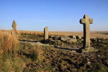 Mount Misery Cross, Hexworthy, Dartmoor National Park