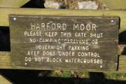 Harford Moor Gate, Harford, Dartmoor National Park