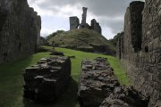 Okehampton Castle (English Heritage), Okehampton, Dartmoor National Park